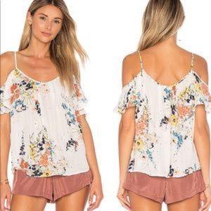 "Joie ""Adorelee"" floral print silk blouse"